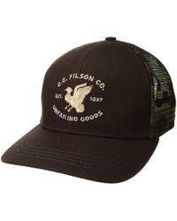 303db687bce Filson - Highway 2 Logger Mesh Cap (brown) Caps - Lyst
