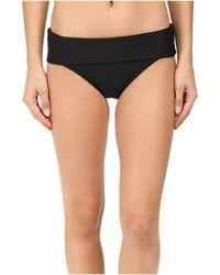 Next By Athena - Good Karma Powerhouse Banded Retro Bikini Bottom (black) Women's Swimwear - Lyst
