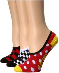 Vans - Mickey's 90th Canoodles 3-pack (multi) Women's Crew Cut Socks Shoes - Lyst
