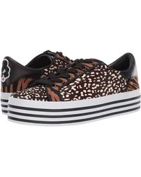 Alice + Olivia Falyn Striped Platform Sneakers - Black