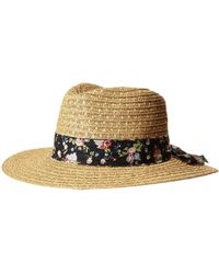 San Diego Hat Company - Ubf1109 Fedora With Novelty Bow Band - Lyst