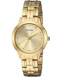 Guess - U0989l2 (gold) Watches - Lyst