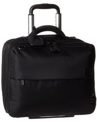 """Lipault - Plume Business Rolling Tote 15"""" - Lyst"""