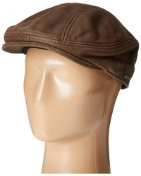 Stetson - Oily Timber Leather Ivy (brown) Traditional Hats - Lyst