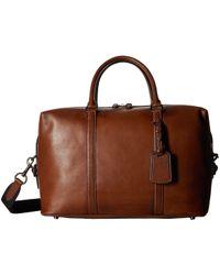 e4ec43fd3a COACH - Explorer Bag In Sport Calf Leather (qb dark Saddle) Bags -