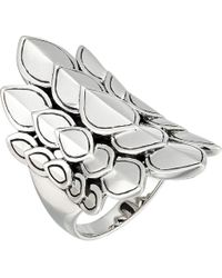 John Hardy - Legends Naga Saddle Ring (silver) Ring - Lyst