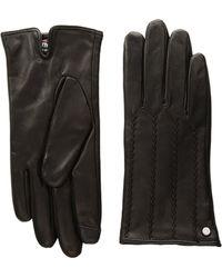 Lauren by Ralph Lauren - Modern Hand Crafted Points Touch Glove - Lyst
