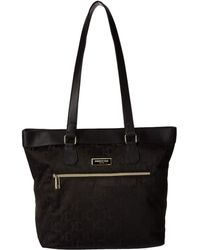 Kenneth Cole Reaction - Kc Street Laptop Tote (black) Tote Handbags - Lyst