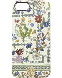 Tory Burch - Meadow Folly Sliding Mirror Case For Iphone 8 (ivory Meadow Folly) Cell Phone Case - Lyst