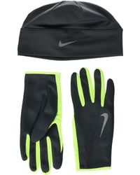 Nike - Run Dry Hat And Gloves Set - Lyst