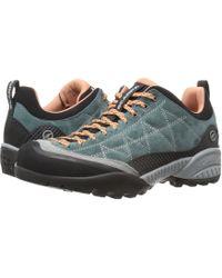 SCARPA - Zen Pro (nile Blue/salmon) Women's Shoes - Lyst