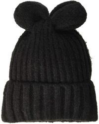 Lyst - Bcbgeneration Galaxy Slouch Beanie (rose Dust) Beanies in Black da5d1e7a1576