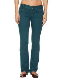 Mountain Khakis - Cody Pants Slim Fit (black) Women's Casual Pants - Lyst