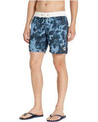 3e91f11d404 G-Star RAW - Dirik All Over Swim Shorts (delft/dark Navy All