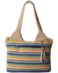 The Sak - Casual Classics Large Tote (lake Life) Tote Handbags - Lyst