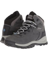 b62a809218d78 Columbia - Newton Ridge Plus (quarry cool Wave) Women s Hiking Boots - Lyst