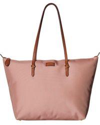 Lauren by Ralph Lauren - Chadwick Tote Medium (rose Smoke) Tote Handbags - Lyst