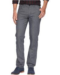 Perry Ellis - Slim Fit Slubbed Stretch Denim Pants (port) Men's Jeans - Lyst