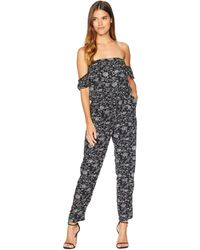 Lucy Love - Malibu Ranch Jumpsuit (mulberry) Women's Jumpsuit & Rompers One Piece - Lyst