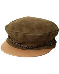 062d701916b9e Brixton - Kayla Cap (rose) Traditional Hats - Lyst