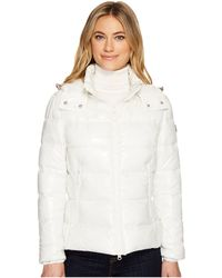 Save The Duck - Short Coat With Removable Hood - Lyst