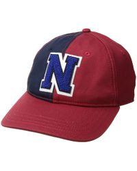 Nautica - Color Block Dad Hat (bright White) Baseball Caps - Lyst