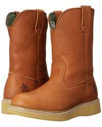 Georgia Boot - G5153 12 Wellington (barracuda Gold) Men's Work Pull-on Boots - Lyst