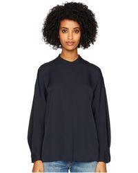 5faab6d2c96c5 Vince - Envelope Sleeve Popover (coastal Blue) Women s Clothing - Lyst