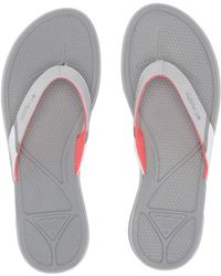 6c6d313525d62 Columbia - Rostratm Pfg (grey Ice red Coral) Women s Sandals - Lyst