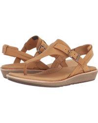 Teva - Encanta Thong (black) Women's Sandals - Lyst