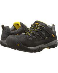 Keen Utility - Tucson Low Steel Toe (black/gargoyle) Men's Work Lace-up Boots - Lyst