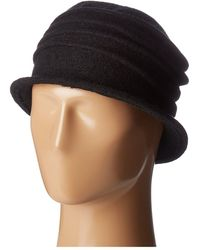 San Diego Hat Company - Cth8089 Soft Knit Cloche With Accordion Detail (pink) Knit Hats - Lyst
