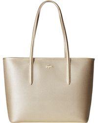 Lacoste - Chantaco Holidays Medium Zip Shopping Bag - Lyst