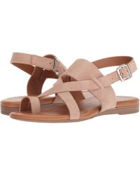 3acf74db9f3b Lyst - Born Womens Timina Leather Open Toe Casual T-strap Sandals in ...