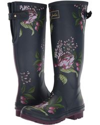 Joules | Tall Welly Print | Lyst