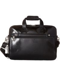 Bosca - Old Leather Collection - Stringer Bag (dark Brown Leather) Briefcase Bags - Lyst