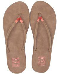 d9545a51aa0 Flojos - Mina (black Multi) Women s Sandals - Lyst