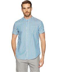 Calvin Klein Jeans - Short Sleeve Cruize Stripe Button Down With Pocket - Lyst