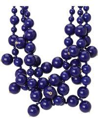 Kenneth Jay Lane - Multi Bead Necklace - Lyst