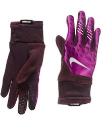 Dick's Sporting Goods · Nike - Printed Therma-fit Elite Run Gloves - Lyst