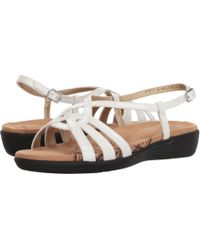 Soft Style - Patrese (black Patent) Women's Sandals - Lyst