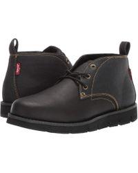 Levi's - Levi's(r) Shoes Bradford Ch/dnm (black Mono) Men's Shoes - Lyst