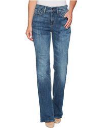 NYDJ - Barbara Bootcut Jeans In Crosshatch Denim In Newton (newton) Women's Jeans - Lyst