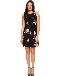 Lauren by Ralph Lauren - Suzan Brunette Park Floral Dress - Lyst