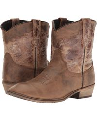 Dingo - Aubrey (cognac) Cowboy Boots - Lyst