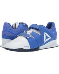 5149c3ecea7b6d Reebok - Legacy Lifter (white black pewter) Men s Shoes - Lyst