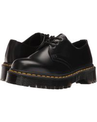 158892ba24 Dr. Martens - 1461 Bex (black Smooth) Shoes - Lyst