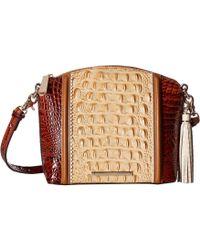 Brahmin - Medina Mini Duxbury Crossbody Bag (chino) Handbags - Lyst