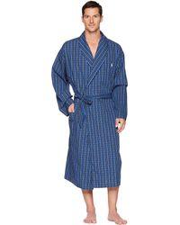 Polo Ralph Lauren - Woven Robe (harwick Plaid) Men's Robe - Lyst
