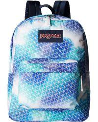 Jansport - Superbreak(r) (signature Purple) Backpack Bags - Lyst